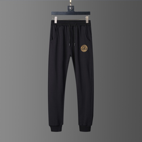 Replica Versace Tracksuits Long Sleeved O-Neck For Men #803901 $62.08 USD for Wholesale