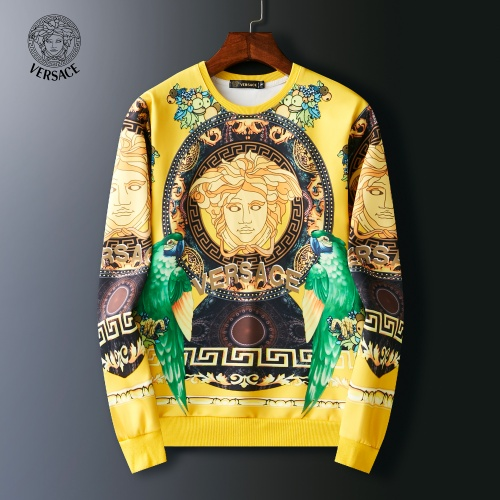 Versace Hoodies Long Sleeved O-Neck For Men #803909
