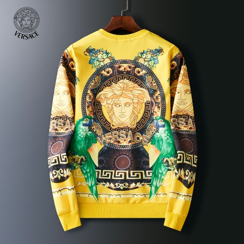 Replica Versace Hoodies Long Sleeved O-Neck For Men #803909 $38.80 USD for Wholesale
