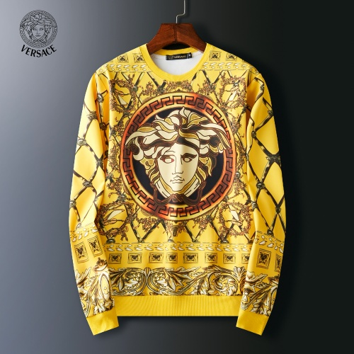 Versace Hoodies Long Sleeved O-Neck For Men #803915