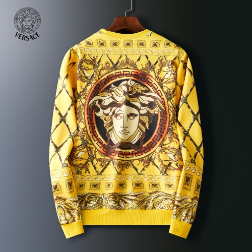 Replica Versace Hoodies Long Sleeved O-Neck For Men #803915 $38.80 USD for Wholesale