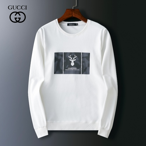 Gucci Hoodies Long Sleeved O-Neck For Men #803917