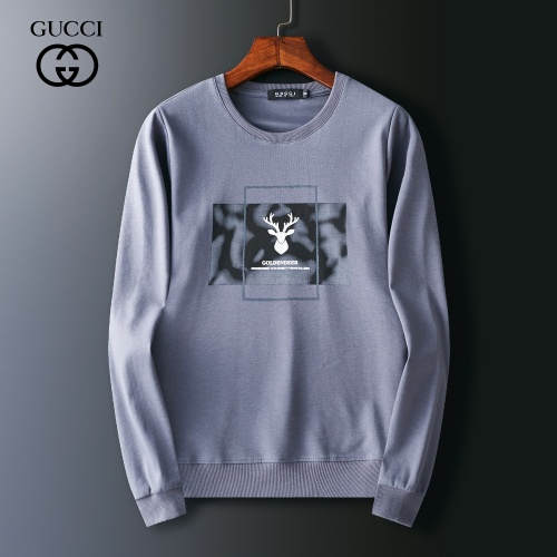 Gucci Hoodies Long Sleeved O-Neck For Men #803919