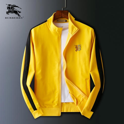 Burberry Jackets Long Sleeved Zipper For Men #803934