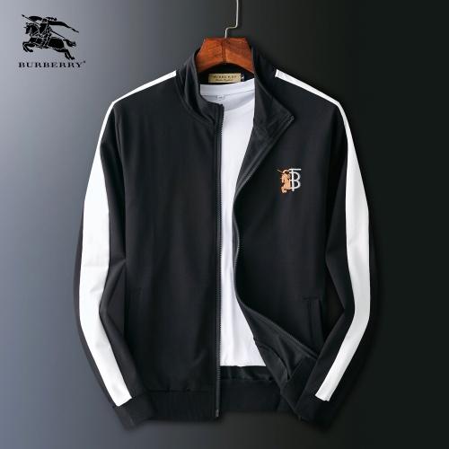 Burberry Jackets Long Sleeved Zipper For Men #803935