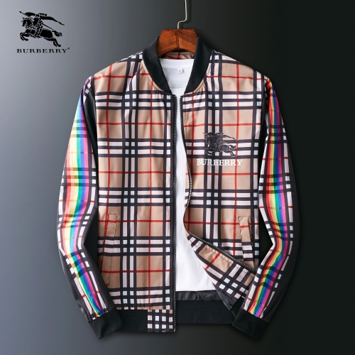 Burberry Jackets Long Sleeved Zipper For Men #803936