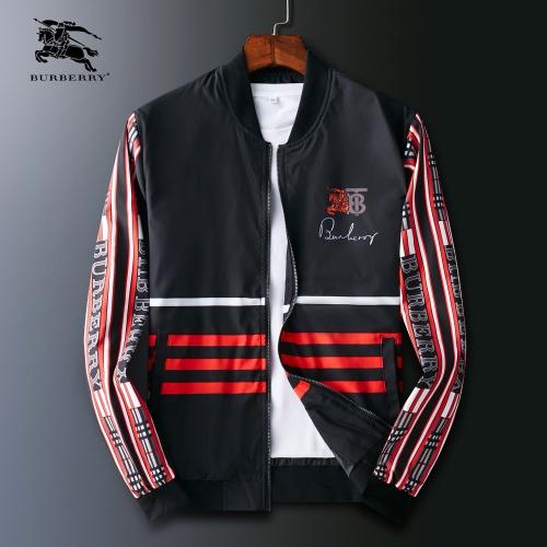 Burberry Jackets Long Sleeved Zipper For Men #803941