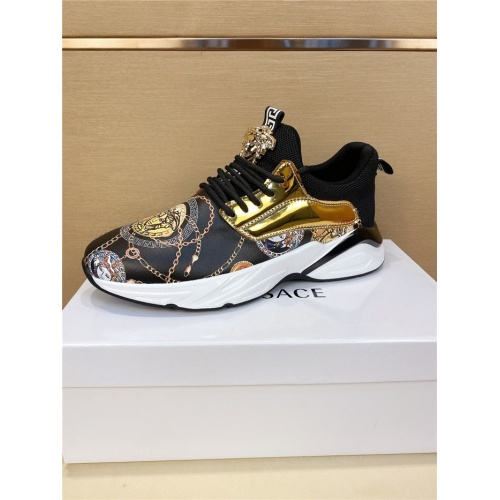 Replica Versace Casual Shoes For Men #803979 $73.72 USD for Wholesale