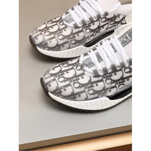 Replica Christian Dior Casual Shoes For Men #804059 $73.72 USD for Wholesale