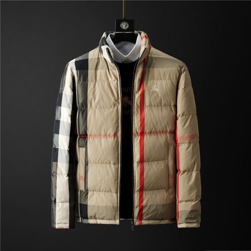Burberry Down Feather Coat Long Sleeved Zipper For Men #804160