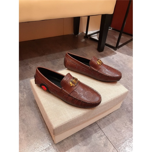 Replica Versace Casual Shoes For Men #804199 $69.84 USD for Wholesale