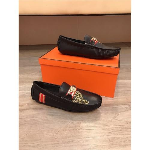 Versace Casual Shoes For Men #804201 $73.72 USD, Wholesale Replica Versace Casual Shoes