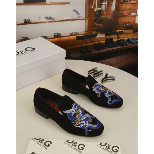Dolce & Gabbana D&G Leather Shoes For Men #804229