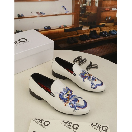 Dolce & Gabbana D&G Leather Shoes For Men #804231