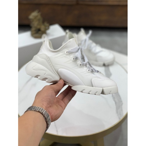 Replica Christian Dior Casual Shoes For Men #804254 $85.36 USD for Wholesale