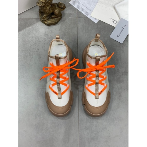 Replica Christian Dior Casual Shoes For Women #804278 $95.06 USD for Wholesale