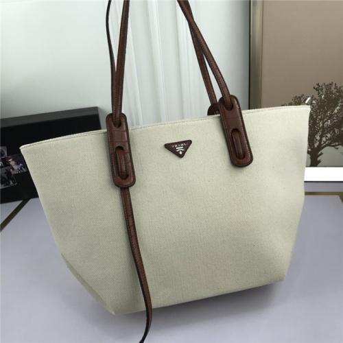Prada AAA Quality Tote-Handbags For Women #804313 $83.42 USD, Wholesale Replica Prada AAA Quality Handbags