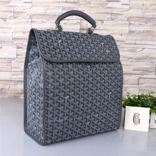 Goyard AAA Quality Backpacks For Unisex #804323