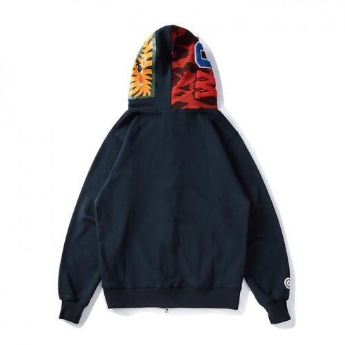 Bape Hoodies Long Sleeved Zipper For Men #804375