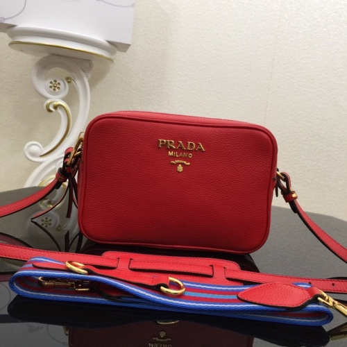 Prada AAA Quality Messeger Bags For Women #804414