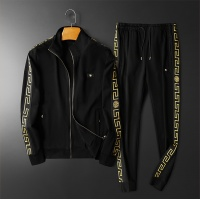 $95.06 USD Versace Tracksuits Long Sleeved Zipper For Men #798534