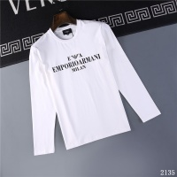 Armani T-Shirts Long Sleeved O-Neck For Men #799633