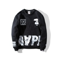 $36.86 USD Aape Hoodies Long Sleeved O-Neck For Men #802279