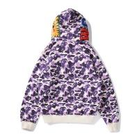Bape Hoodies Long Sleeved Zipper For Men #804372