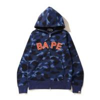 Bape Hoodies Long Sleeved Zipper For Men #804396