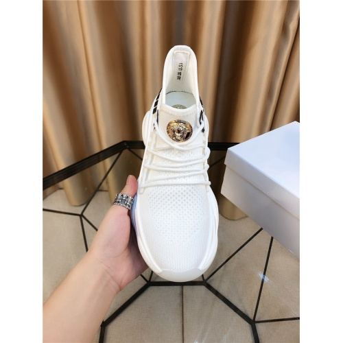 Replica Versace Casual Shoes For Men #804487 $73.72 USD for Wholesale