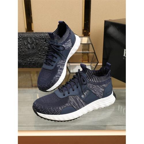 Boss Casual Shoes For Men #804498 $77.60 USD, Wholesale Replica Boss Fashion Shoes
