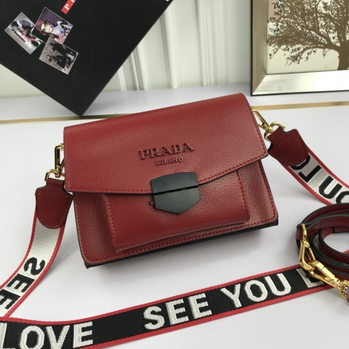 Prada AAA Quality Messeger Bags For Women #804642