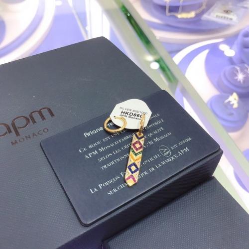 apm Monaco Earrings #804658 $32.98 USD, Wholesale Replica apm Monaco Earrings