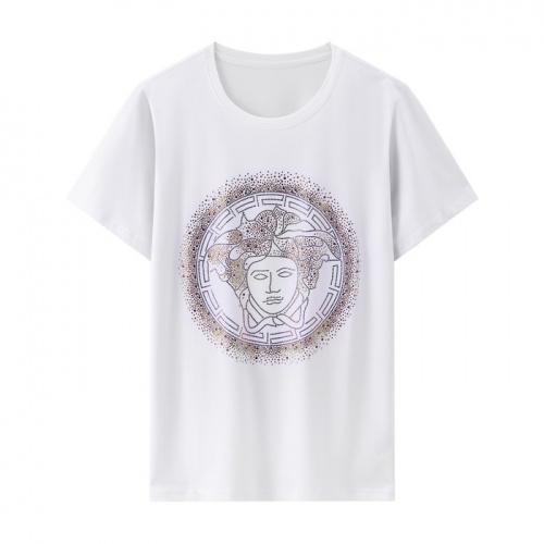 Versace T-Shirts Short Sleeved O-Neck For Men #804677
