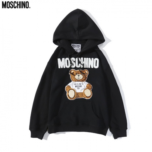 Moschino Hoodies Long Sleeved Hat For Men #804711 $39.77 USD, Wholesale Replica Moschino Hoodies