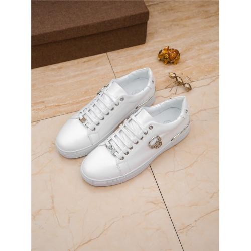 Philipp Plein PP Casual Shoes For Men #804761 $73.72 USD, Wholesale Replica Philipp Plein Shoes