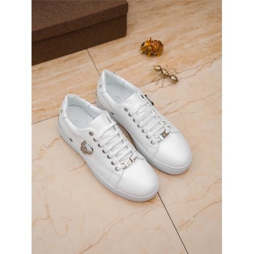 Replica Philipp Plein PP Casual Shoes For Men #804761 $73.72 USD for Wholesale