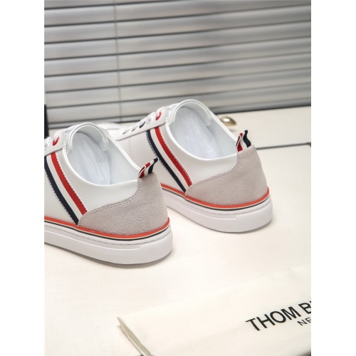 Replica Thom Browne TB Casual Shoes For Men #804786 $73.72 USD for Wholesale