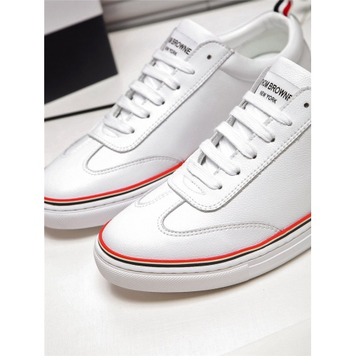 Replica Thom Browne TB Casual Shoes For Men #804787 $73.72 USD for Wholesale