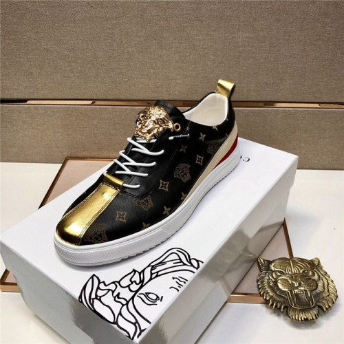 Replica Versace Casual Shoes For Men #804790 $77.60 USD for Wholesale