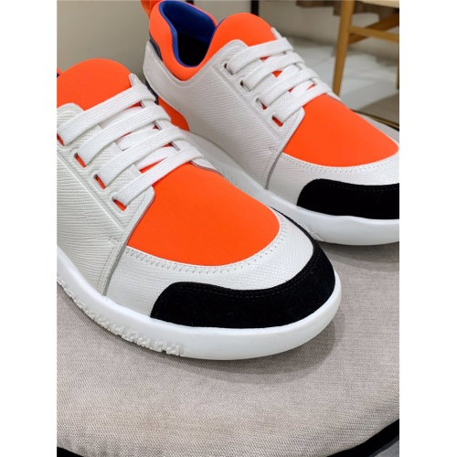 Replica Hermes Casual Shoes For Men #804813 $89.24 USD for Wholesale