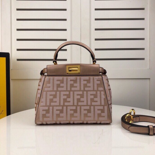 Fendi AAA Quality Handbags For Women #804861 $156.17 USD, Wholesale Replica Fendi AAA Quality Handbags
