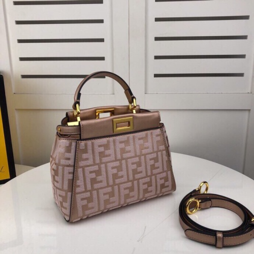 Replica Fendi AAA Quality Handbags For Women #804861 $156.17 USD for Wholesale
