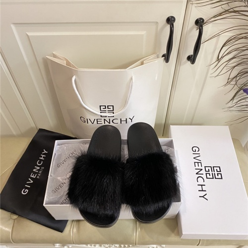 Replica Givenchy Slippers For Women #804879 $77.60 USD for Wholesale