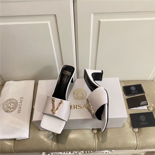 Replica Versace Sandals For Women #804902 $82.45 USD for Wholesale