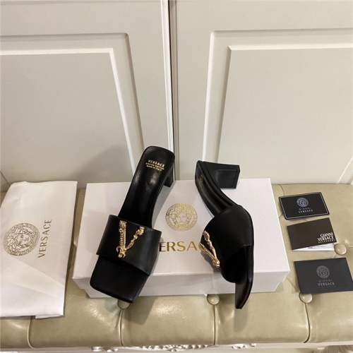 Replica Versace Sandals For Women #804903 $82.45 USD for Wholesale
