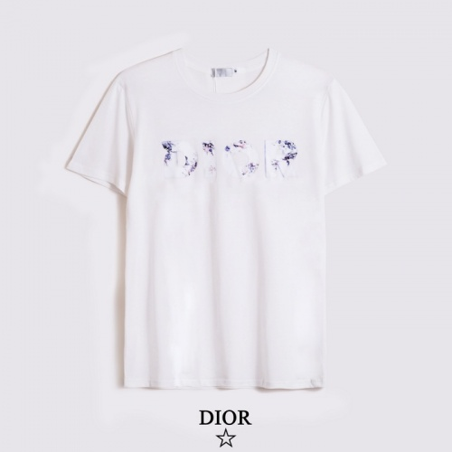 Christian Dior T-Shirts Short Sleeved O-Neck For Men #804905