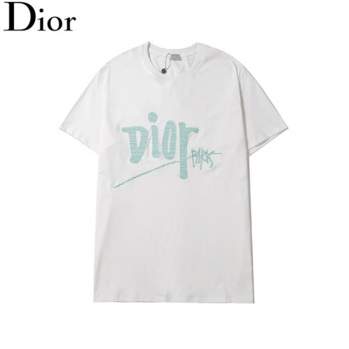 Christian Dior T-Shirts Short Sleeved O-Neck For Men #804908
