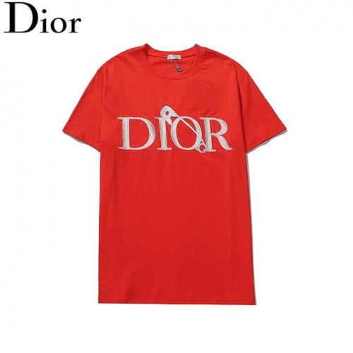 Christian Dior T-Shirts Short Sleeved O-Neck For Men #804913