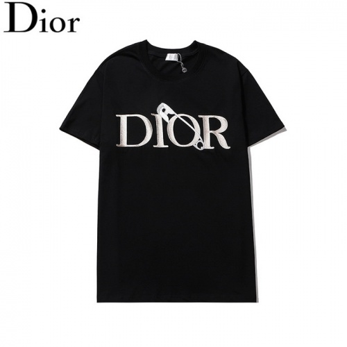 Christian Dior T-Shirts Short Sleeved O-Neck For Men #804915 $26.19 USD, Wholesale Replica Christian Dior T-Shirts